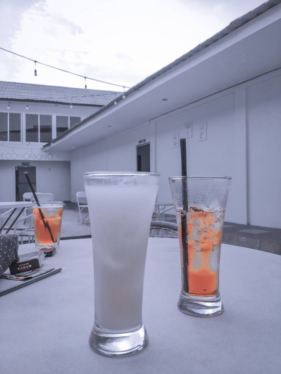 Couple drink