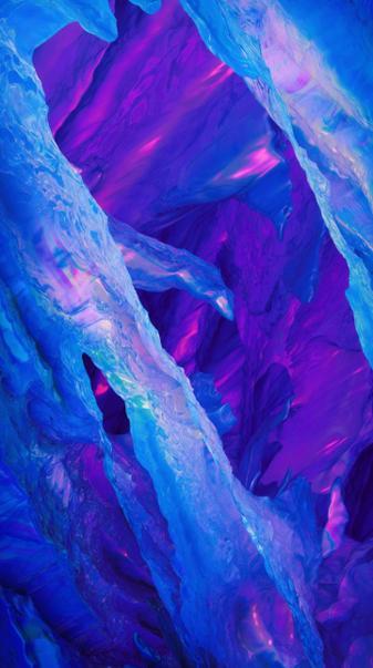 4K Purple Mountain