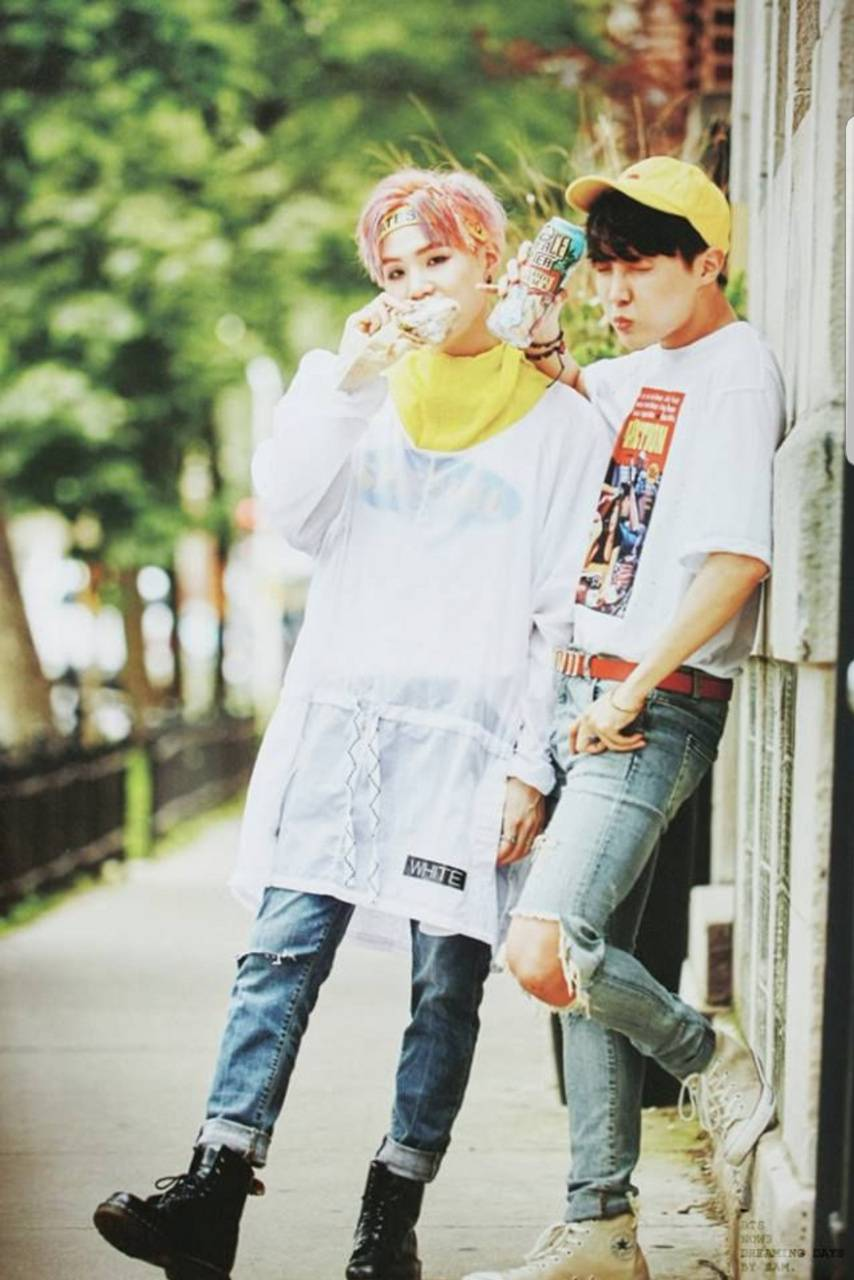 Bts Suga and Jhope