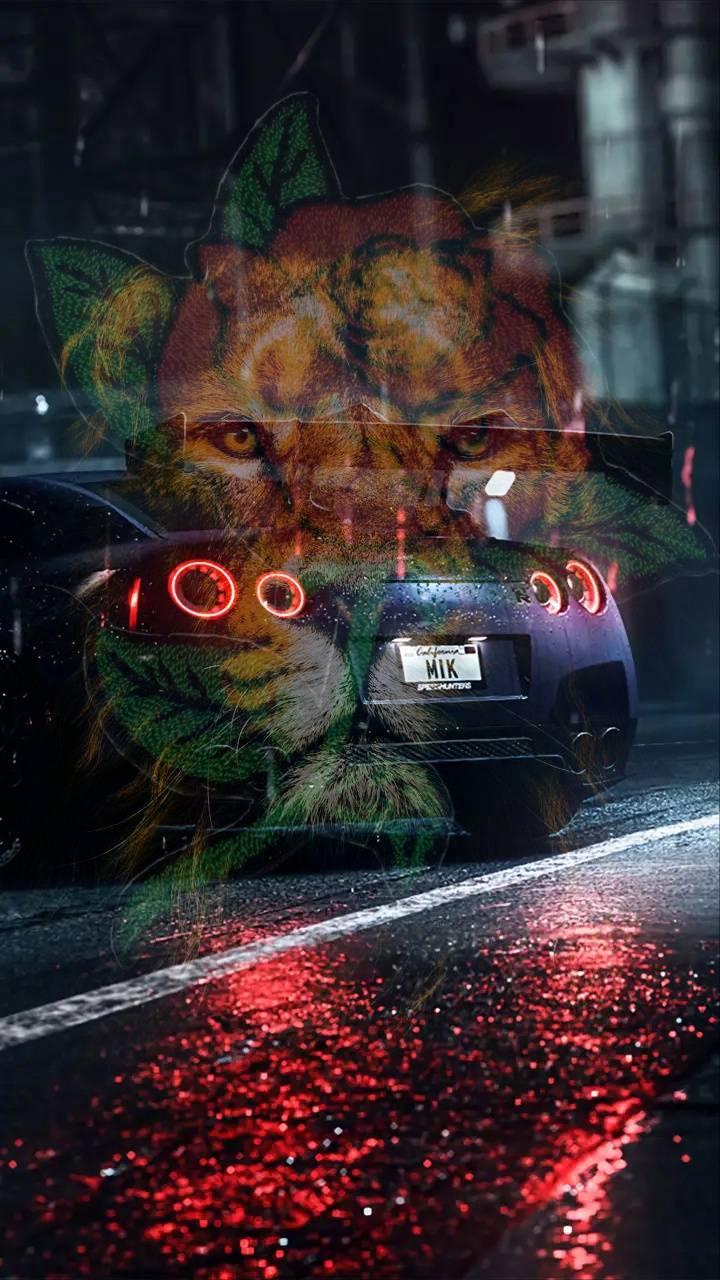 GTR R35 LION ROSE