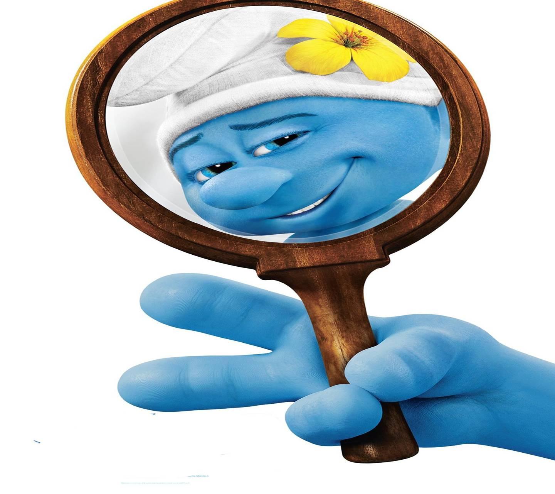 Smurf Vanity