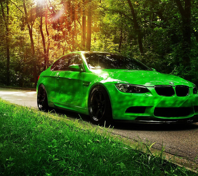 Green Bmw M3