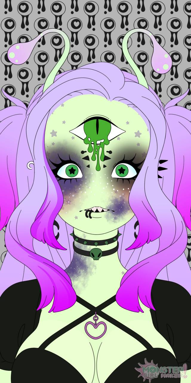 Anime Alien Girl goth alien wallpapermonstergirlz1995 - 3f - free on zedge™