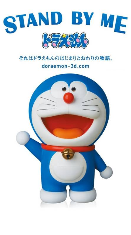 Doraemon On Black Wallpapers Free By Zedge