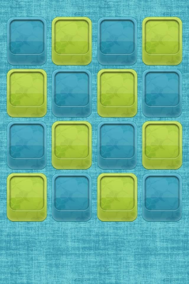 Blue Green Shelf