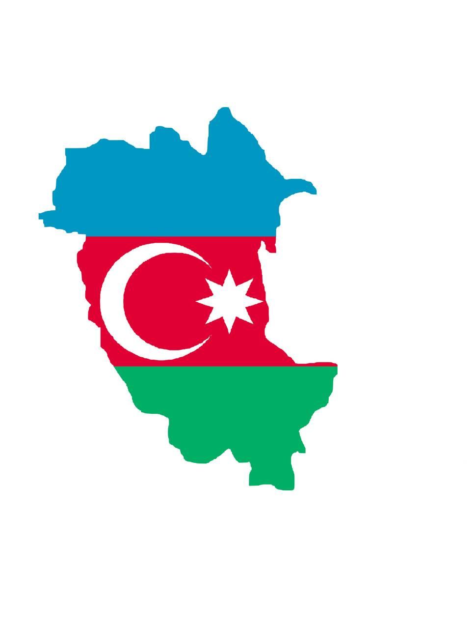 Map of Azerbaijan
