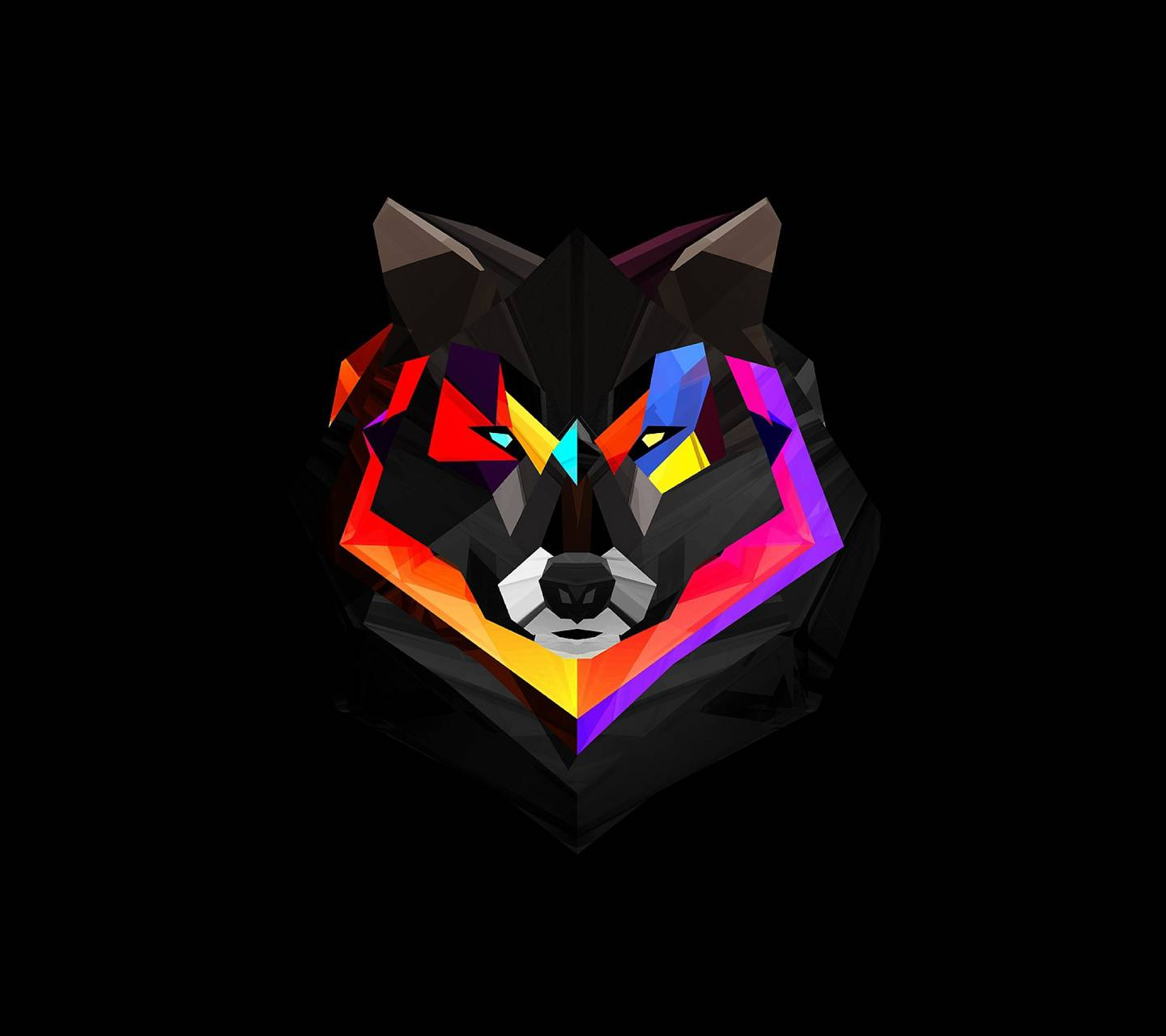 Polygon Wolf Wallpaper By Dudeski1988 82 Free On ZEDGE™