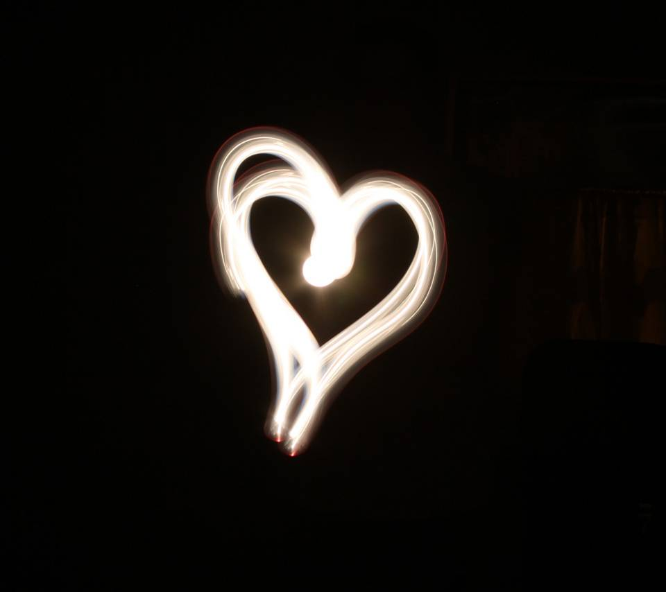 Light Painting Heart