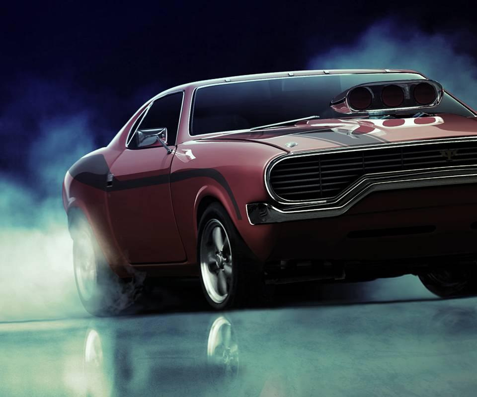 Dodge Burnout