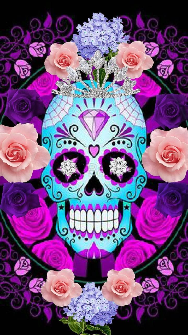 Sugar Skull Wallpaper By Lirpalovesjason666 49 Free On Zedge