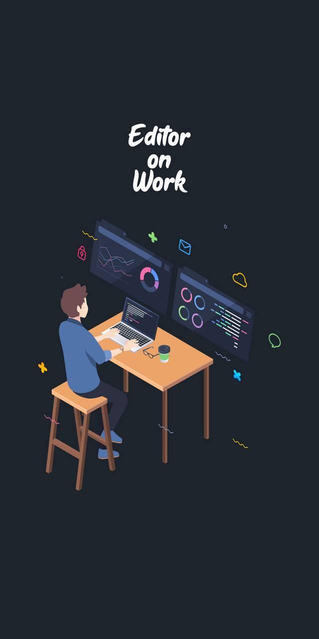editor on work