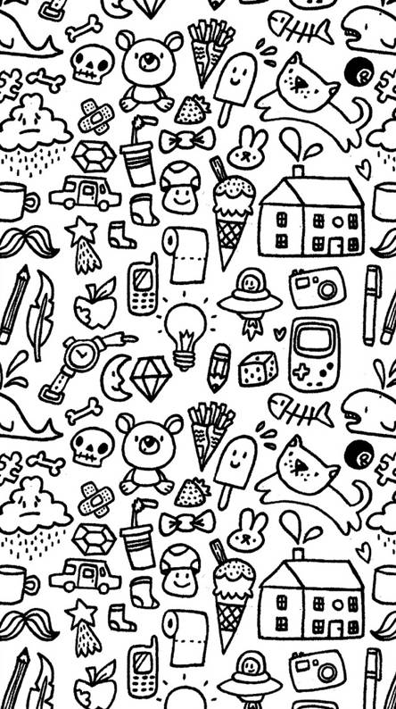 Doodle Wallpapers Free By Zedge