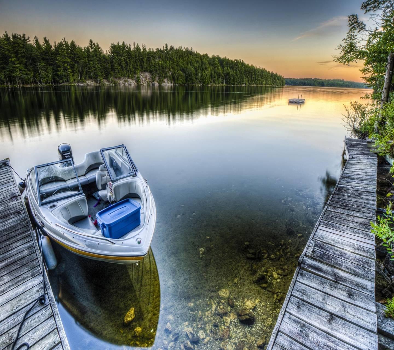 Lake Boat Dock