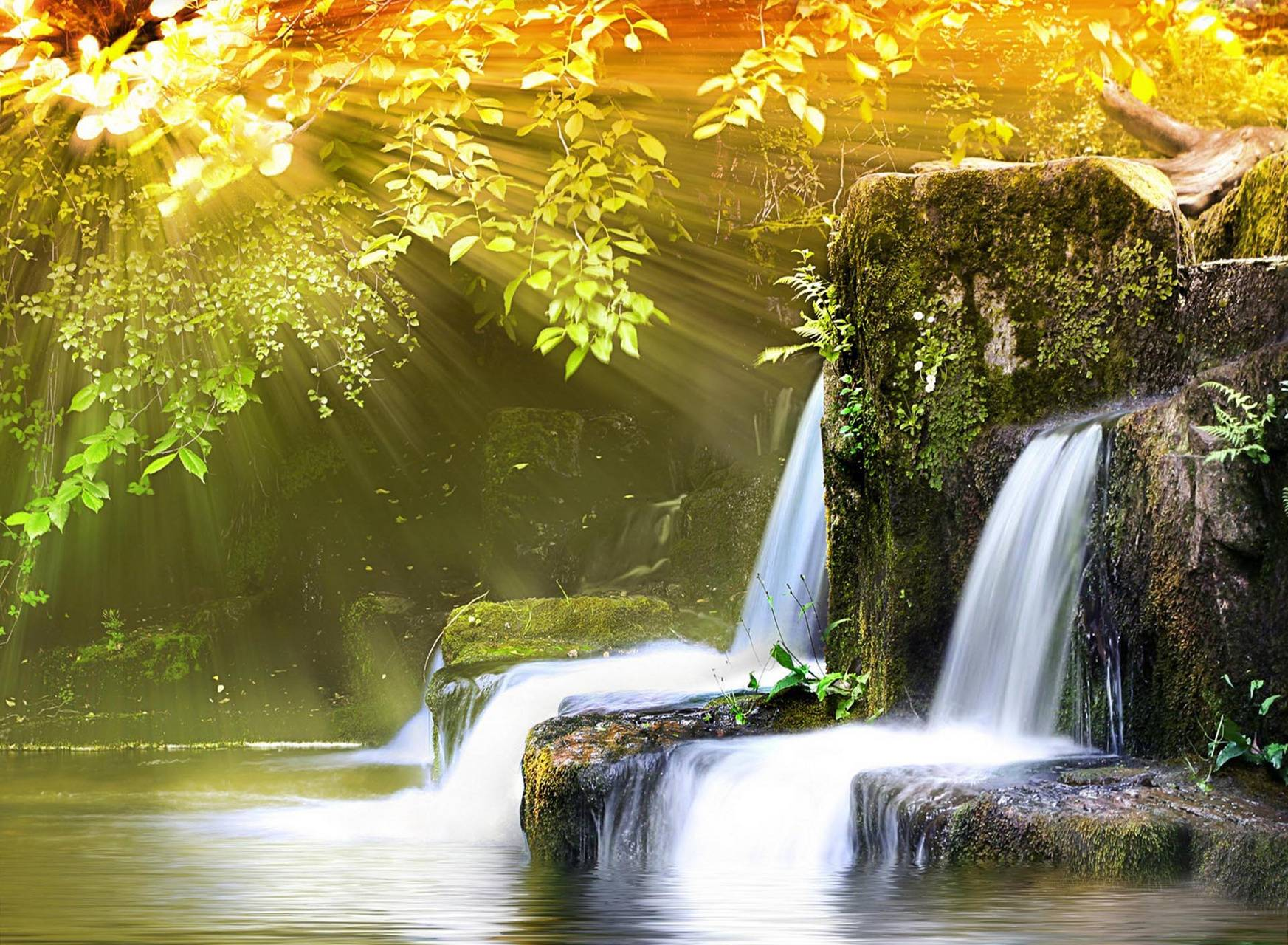 Small waterfall hd