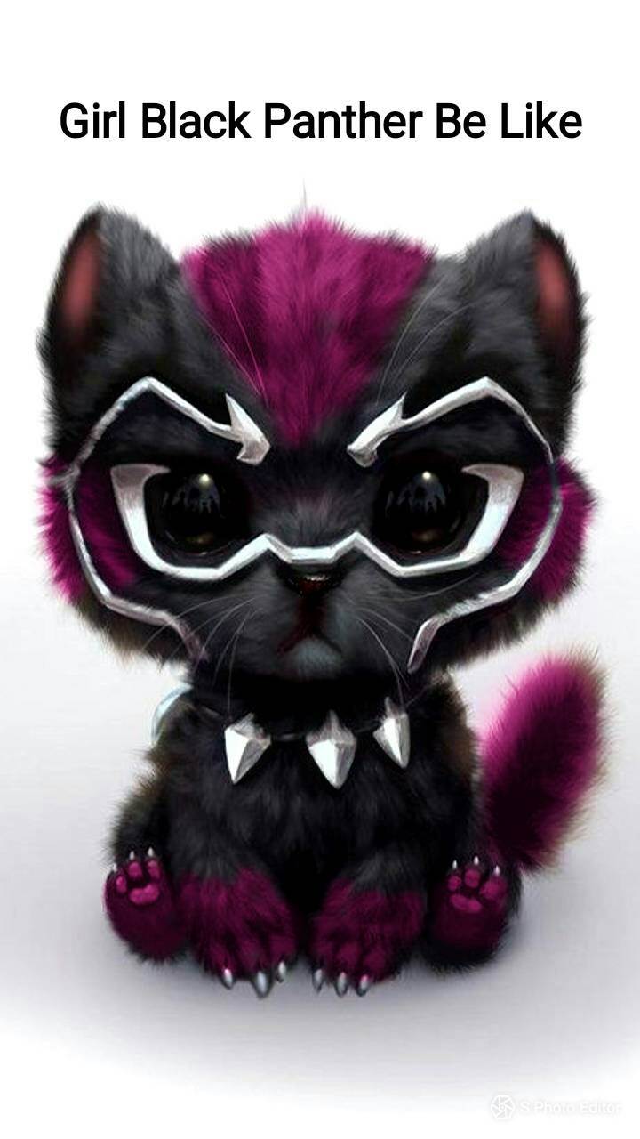 Black panther girl