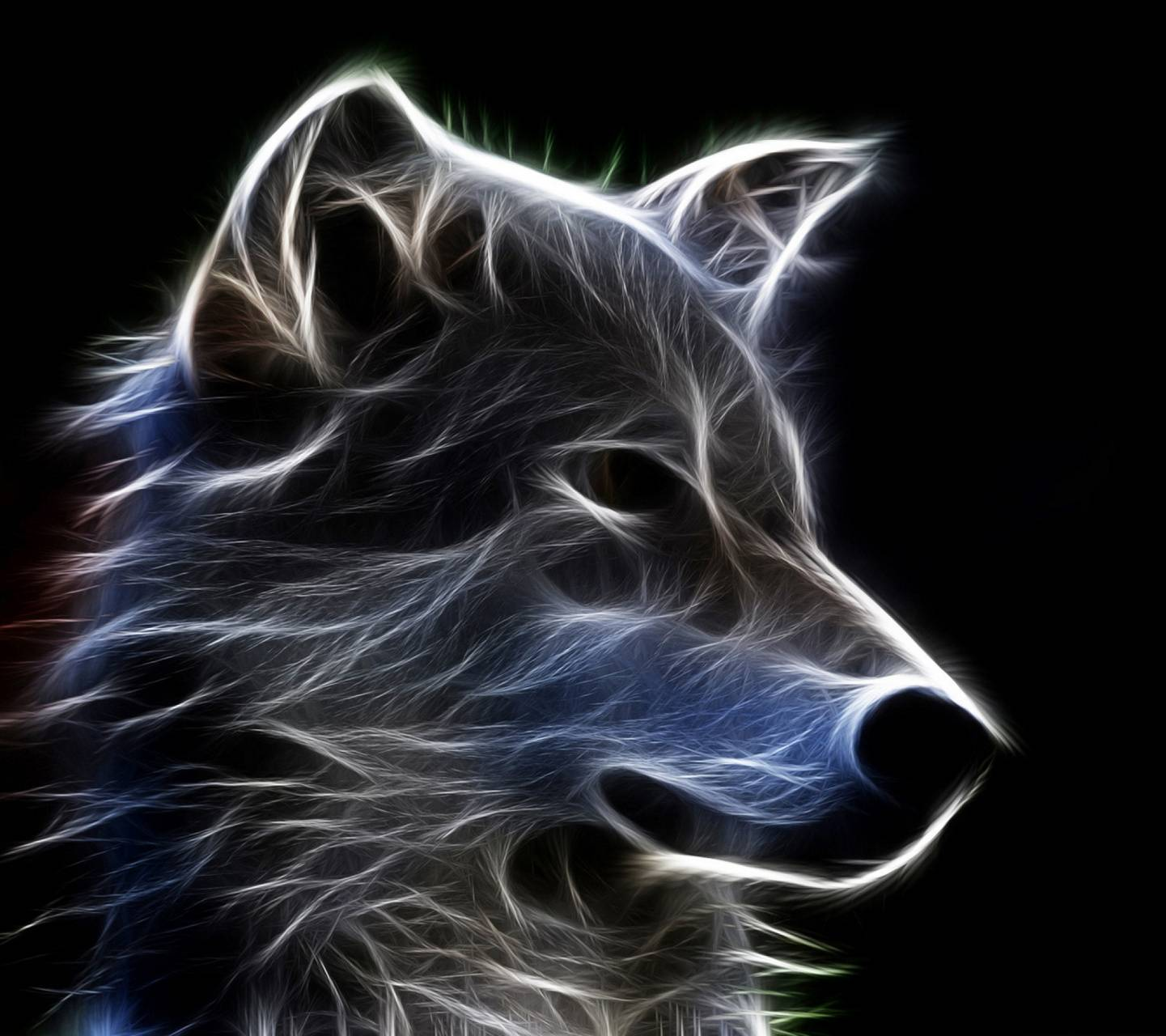 Wolf Furry Neon