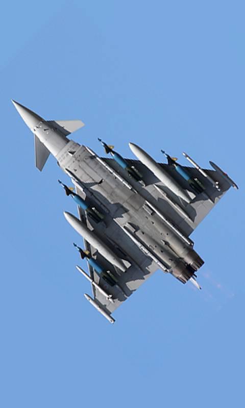 Jet Eurofighter RAF