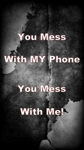 Mess With Phone
