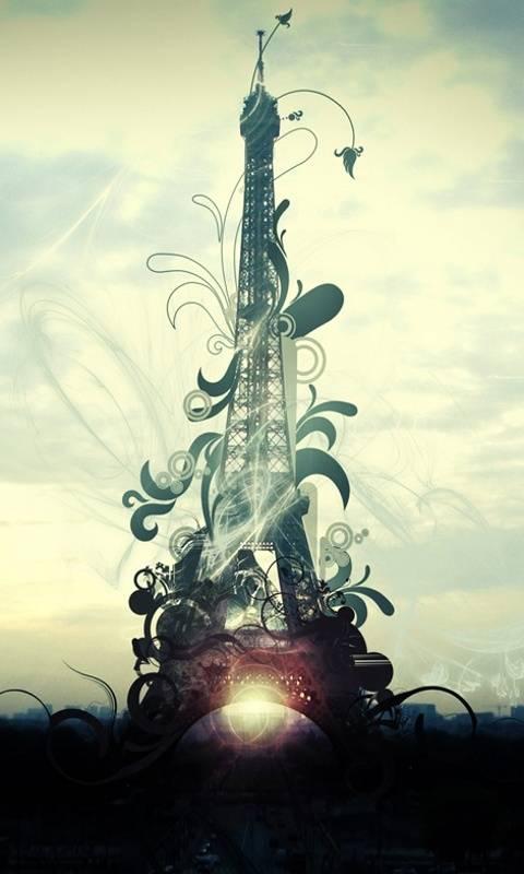 Abstract Eiffeltower