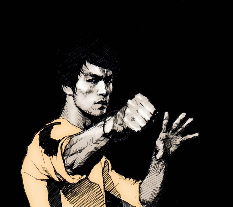 Grunge Bruce Lee