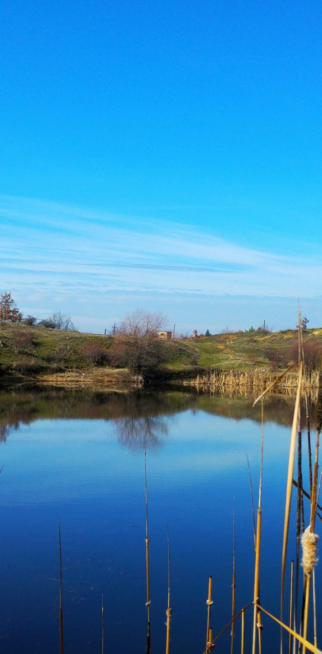 Lake veiw reflection