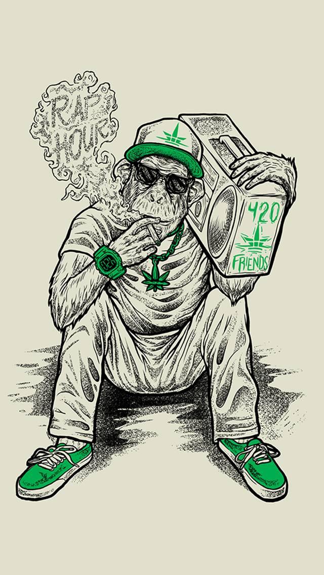marijuana monkey