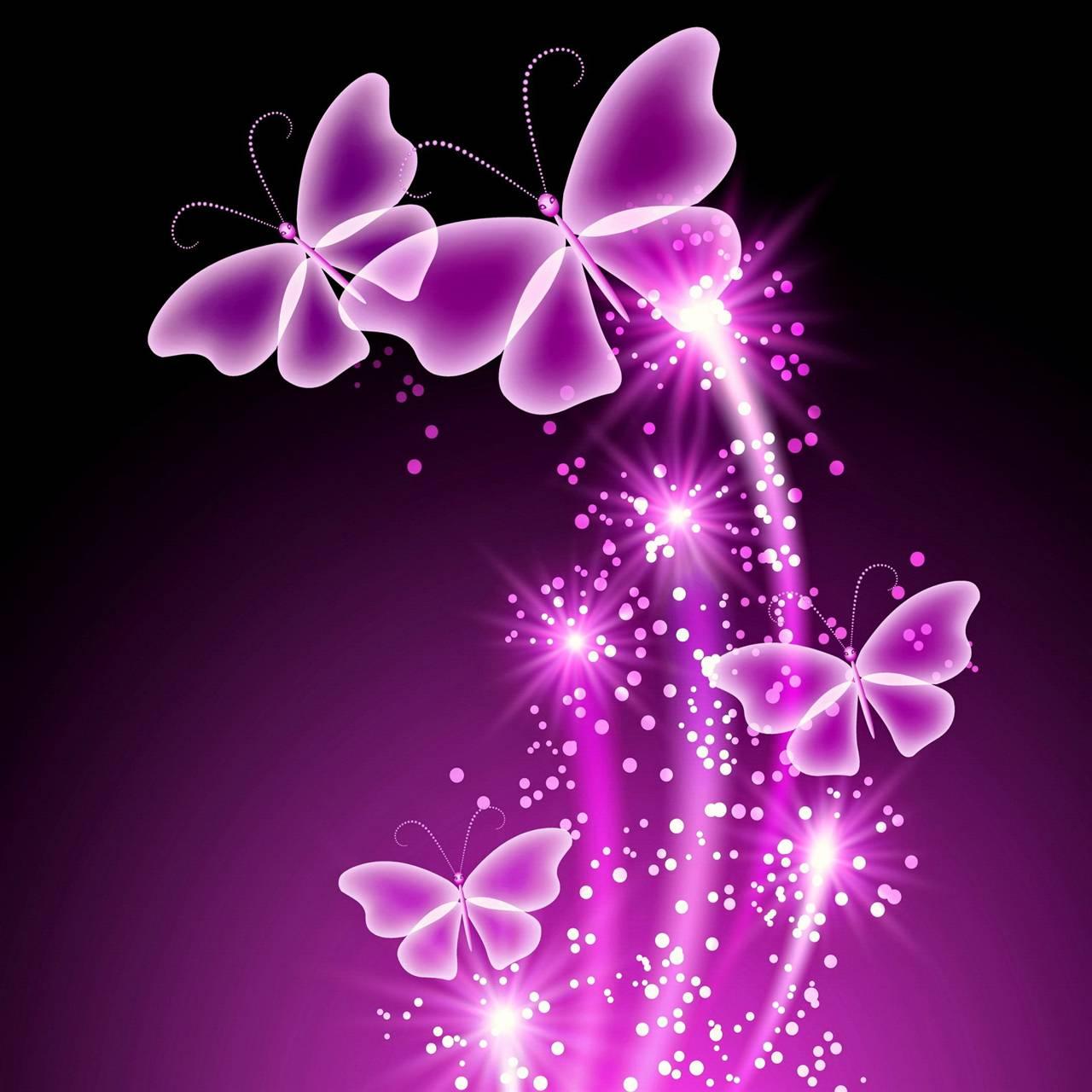 Neon Butterflies