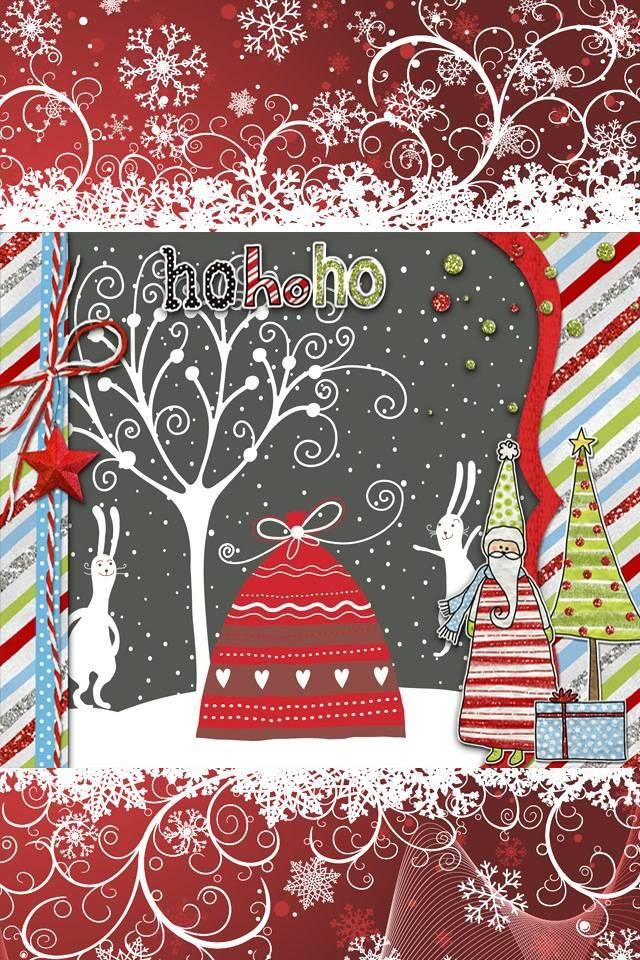 Christmas Lockscreen Wallpaper By ZoeyCatz