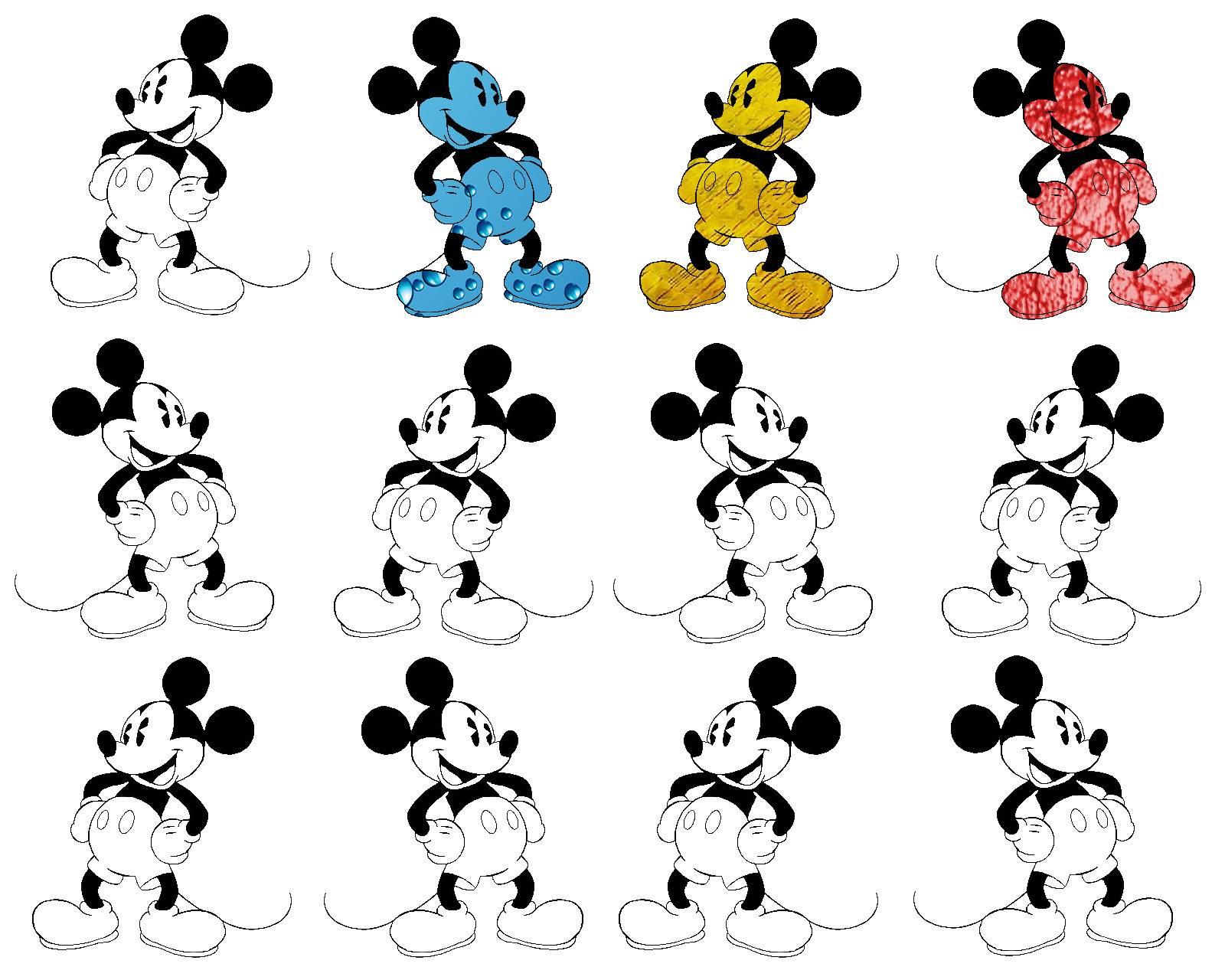Colour Ur Mickey