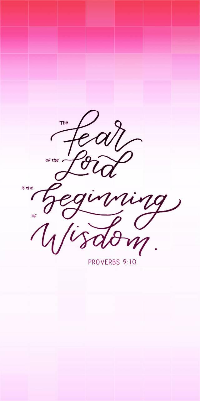 Proverbs 9 Verse 10