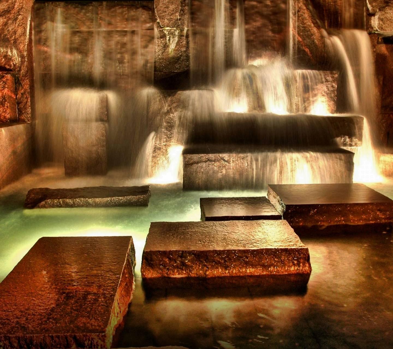 Waterfall Inside