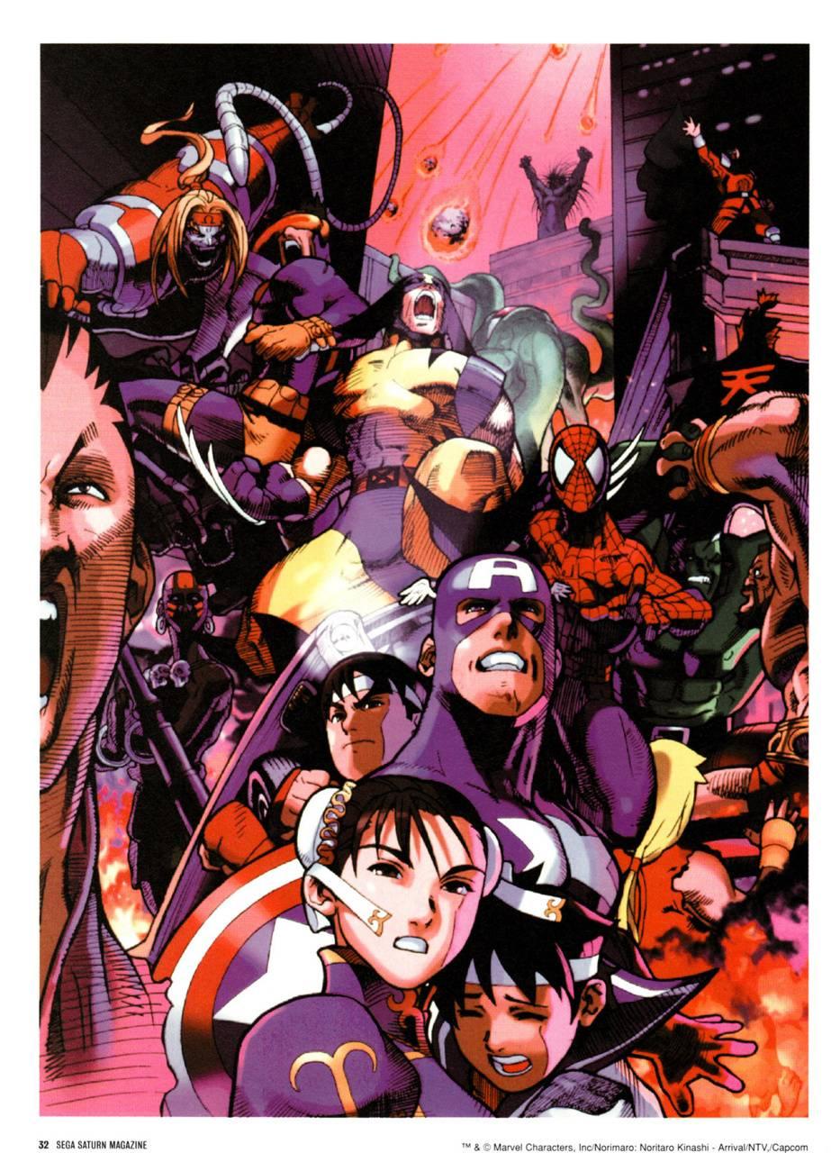 Marvel Vs Capcom 2 Wallpaper By Jurahsik 8e Free On Zedge