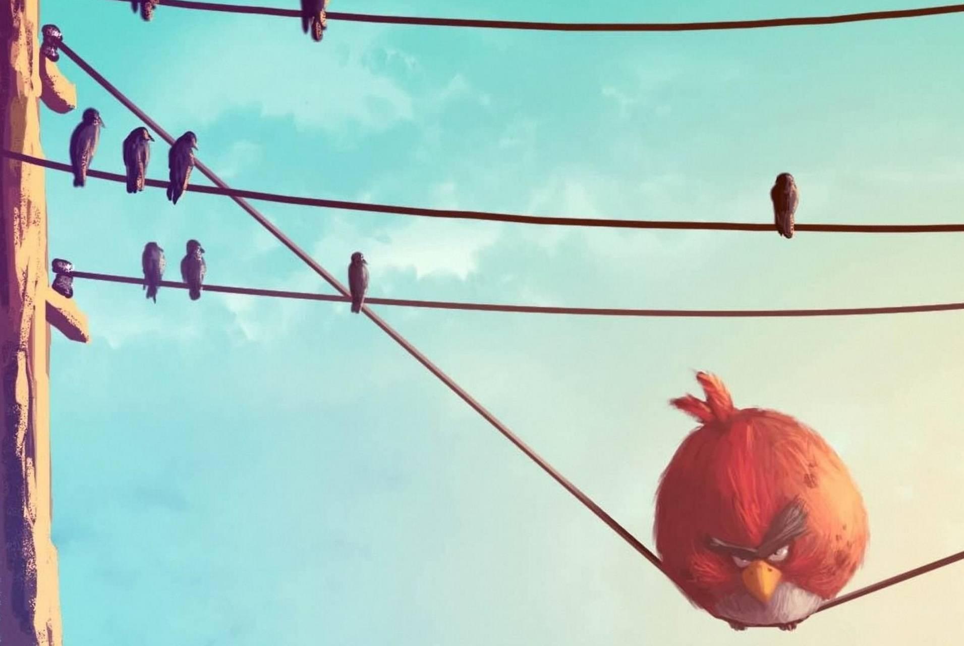 Angry Bird Art