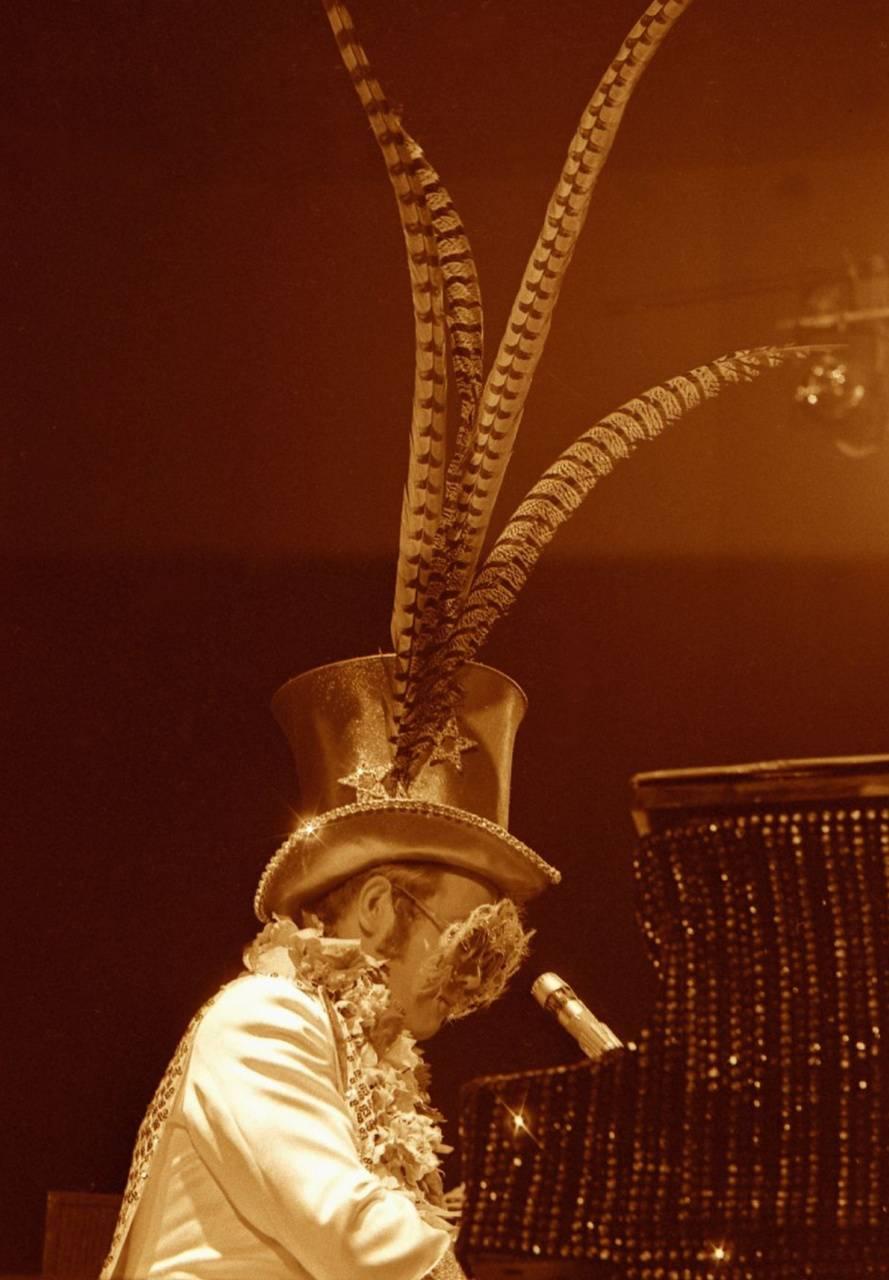 Elton John Top Hat