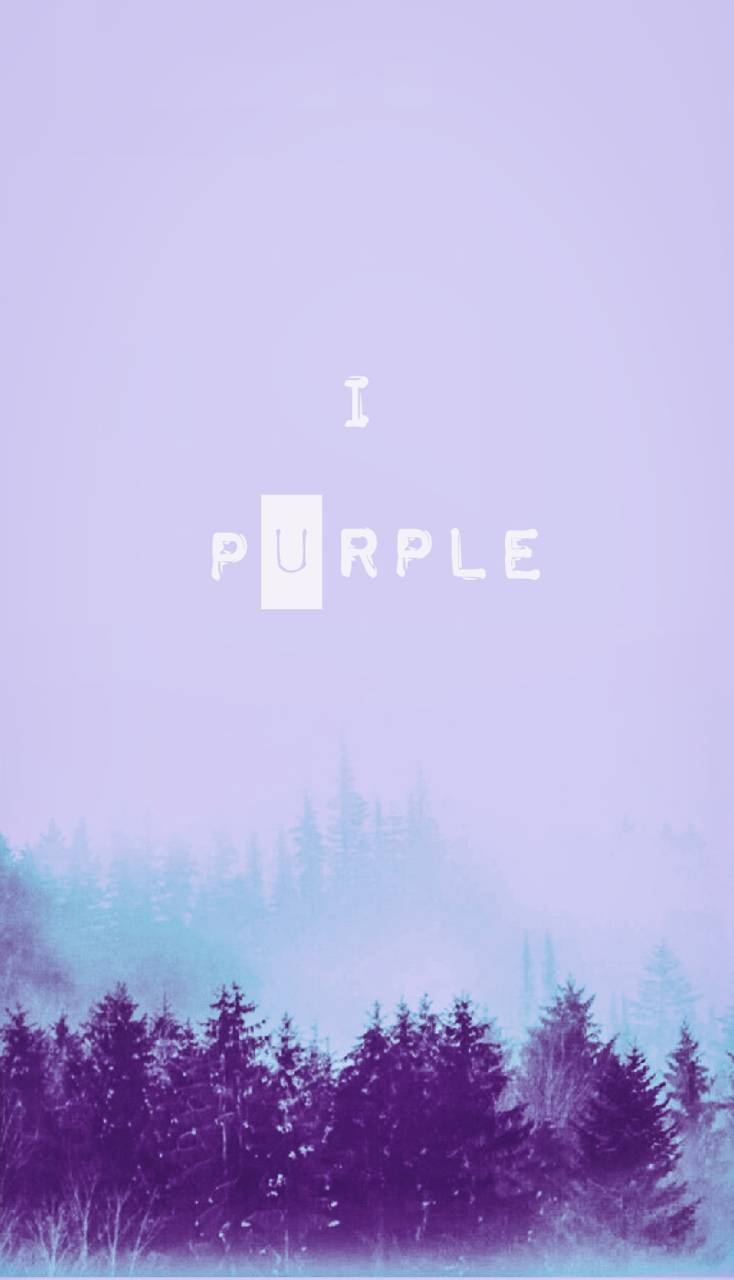 BTS I purple you