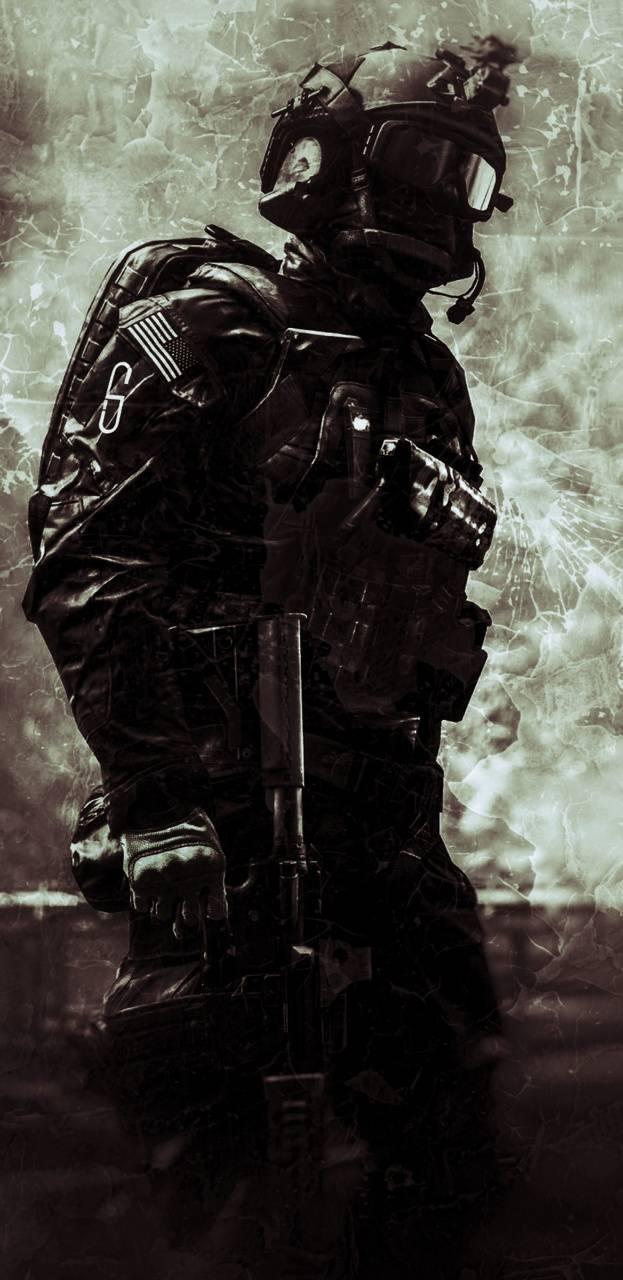 Warped soldier