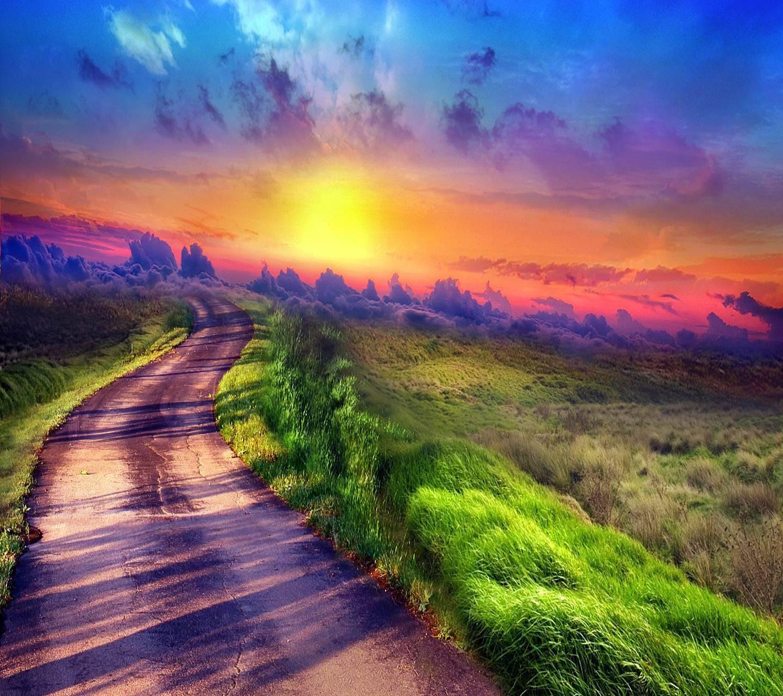 Colourful Path