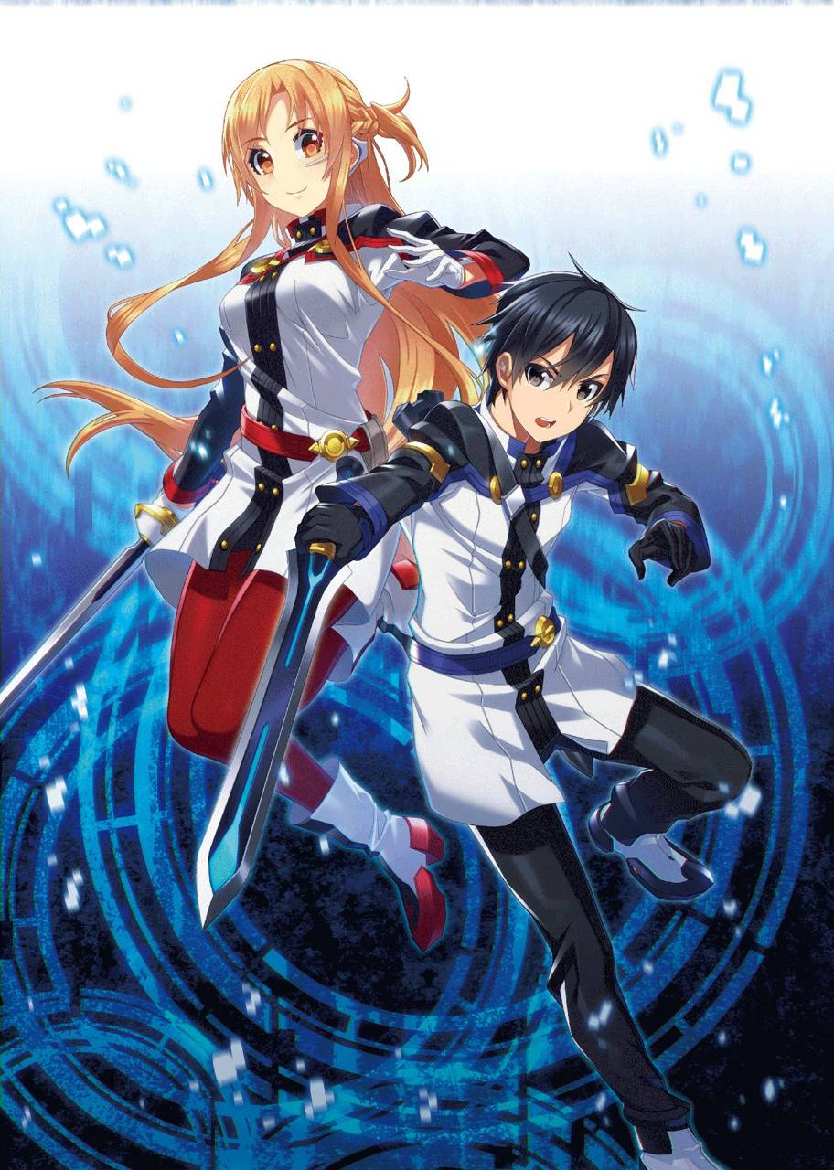 Foto Kirito Dan Asuna kirito and asuna wallpaperotakuwalls - d6 - free on zedge™