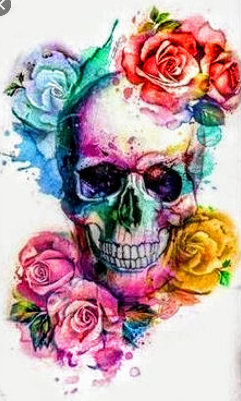 Flower Skull Wallpaper By Tabster251 43 Free On Zedge
