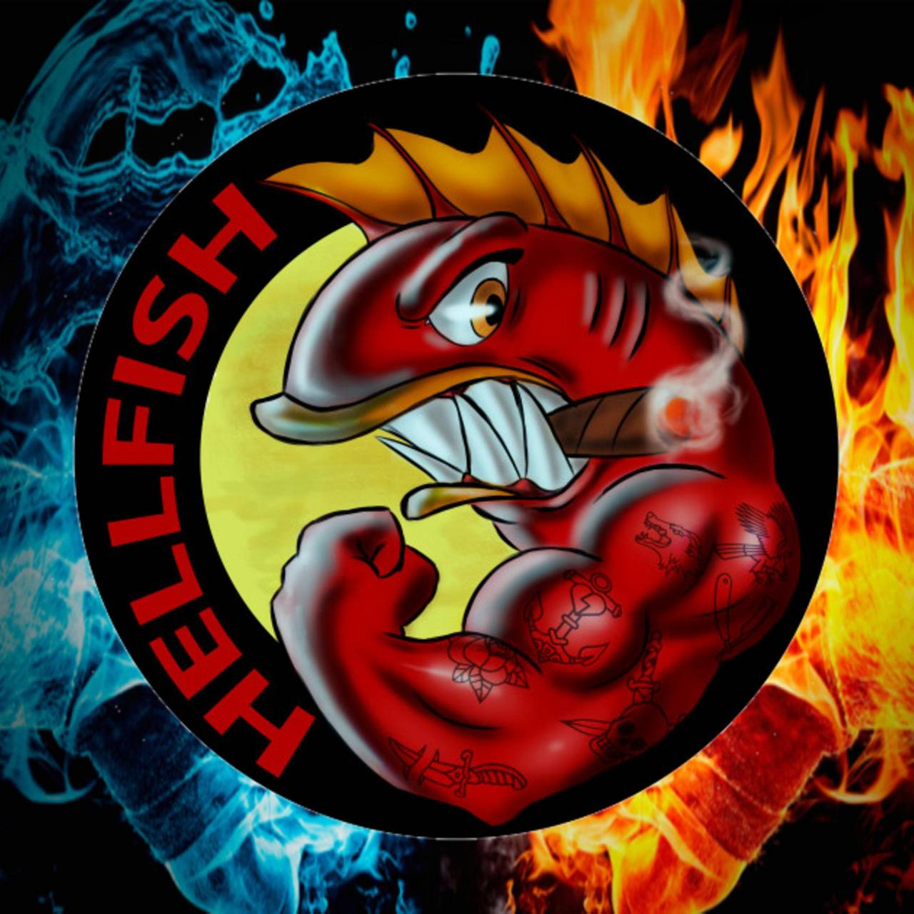 Hellfish Fire whater