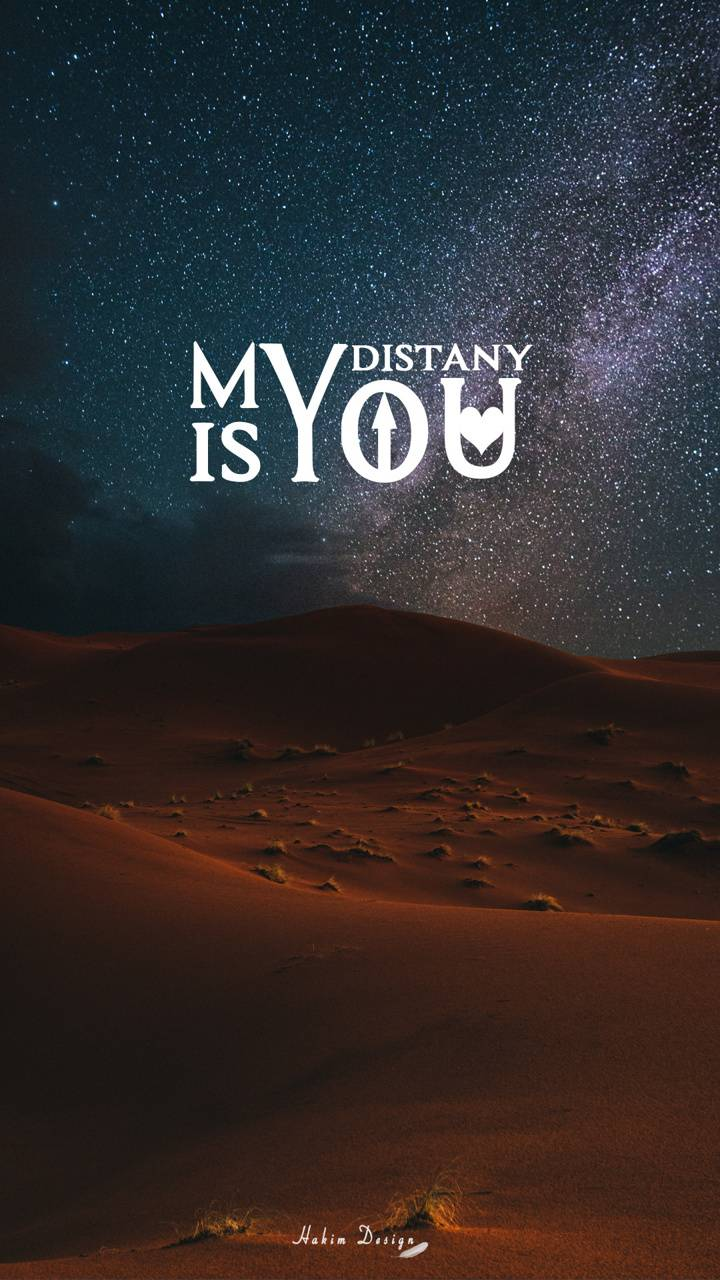 my distany is you