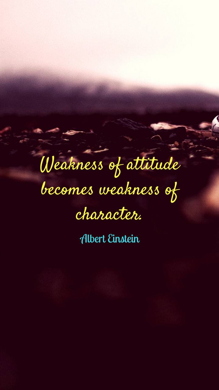 Weakness-of-Atitude
