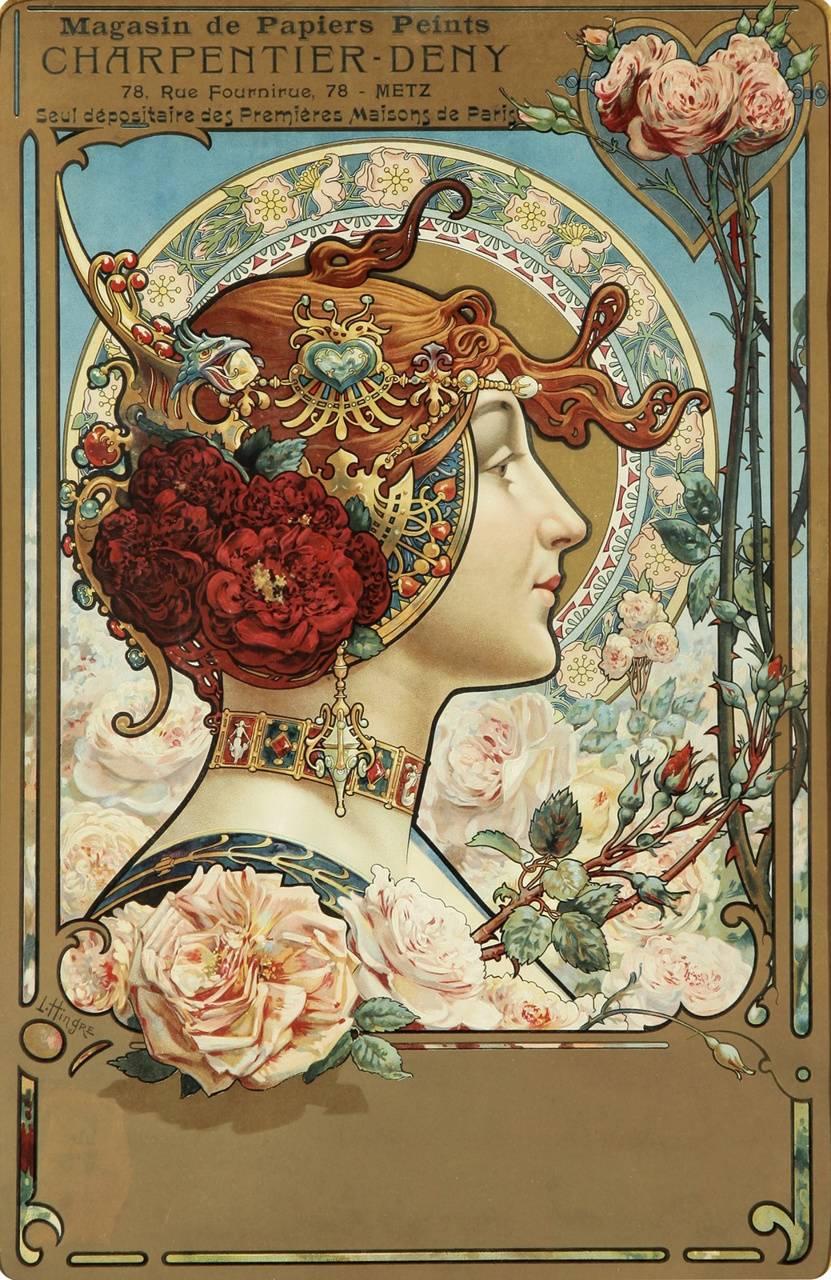 Art Nouveau Maiden Wallpaper By Valentinaweena 8b Free On Zedge