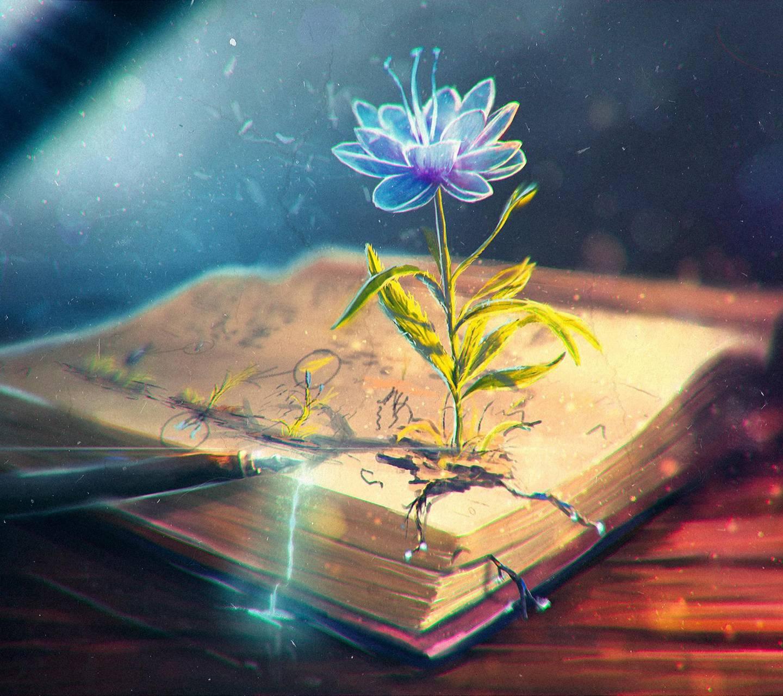 Magic flower wallpaper by ImaniBlake - d2 - Free on ZEDGE™