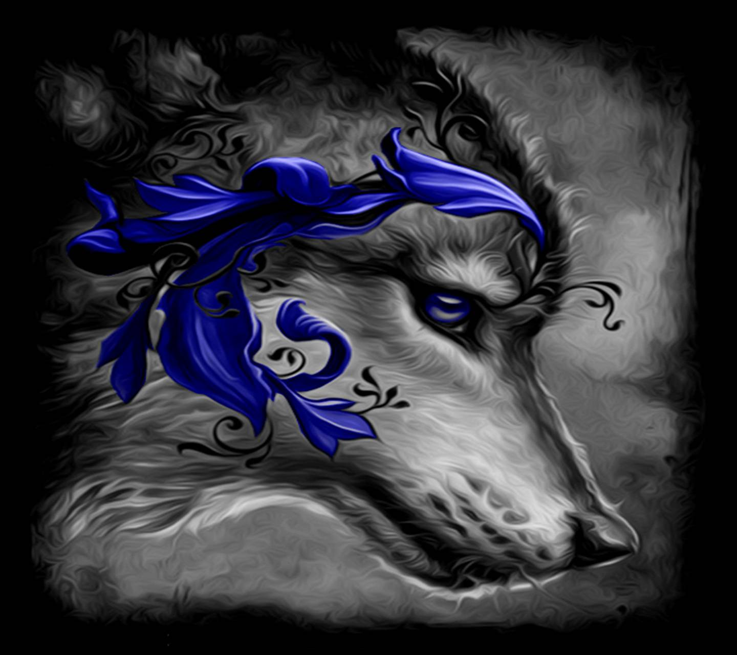 Abstract Wolf