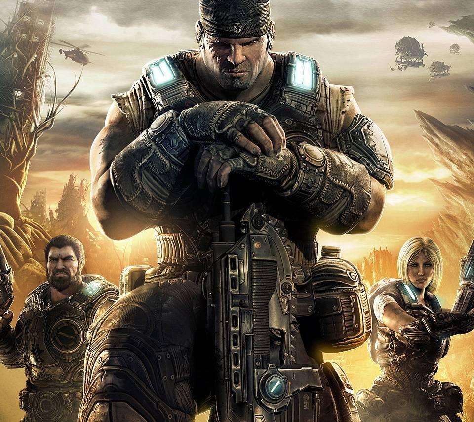 Gears Of War 3 Cover