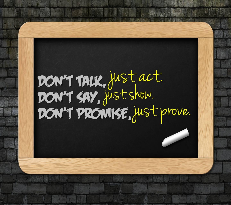 Talk Say Promise