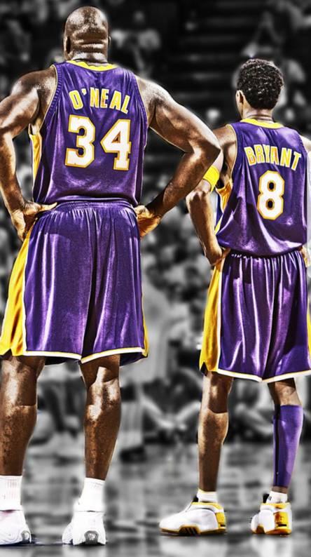 Lakers Shaq Kobe