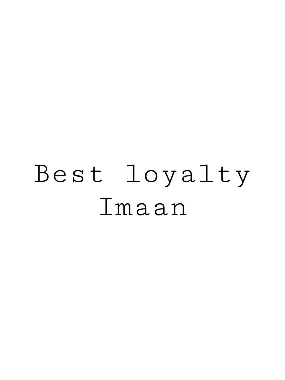 Islam -Imaan