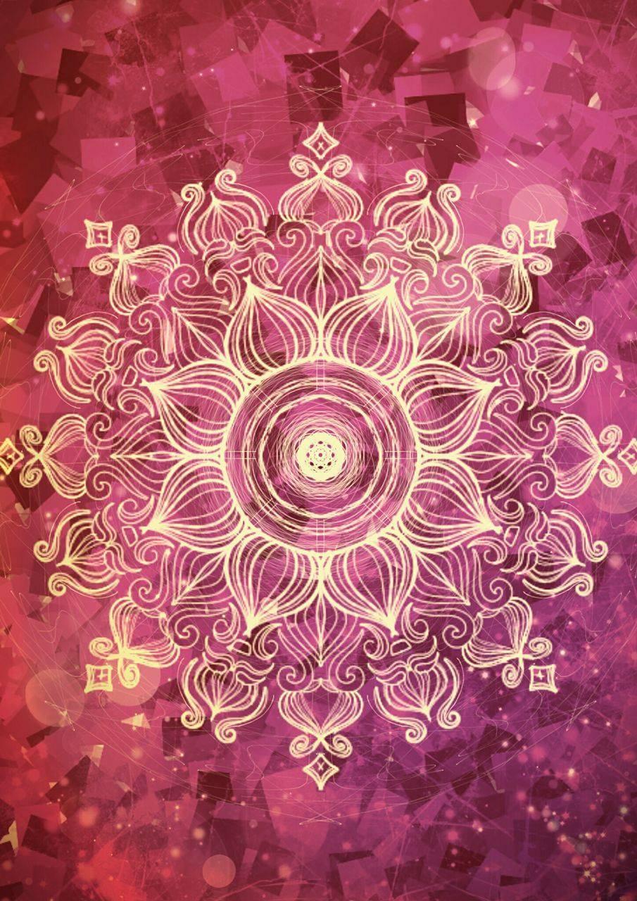 Magenta Mandala